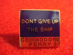 81 NJ subcamp pin, Commodore Perry