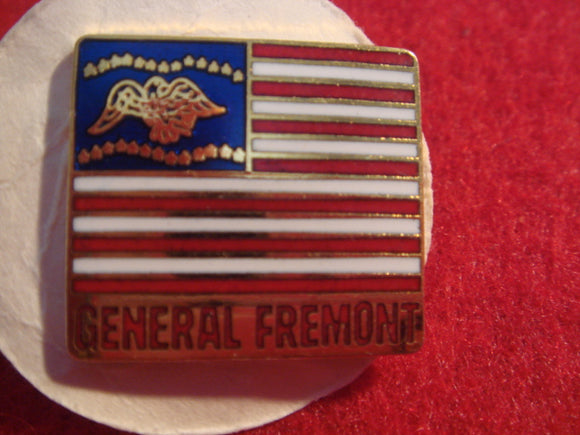 81 NJ subcamp pin, General Fremont