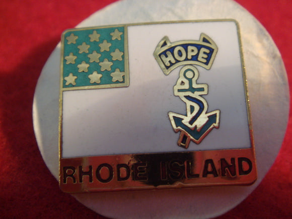 81 NJ subcamp pin, Rhode Island