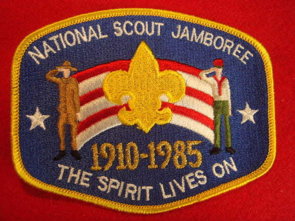 85 NJ jacket patch