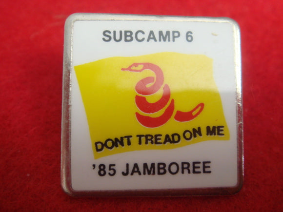 85 NJ subcamp 6, don't tread on me, pin