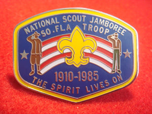 85 NJ South Florida Council contingent neckerchief slide