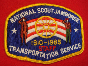 85 NJ transportation staff pocket patch