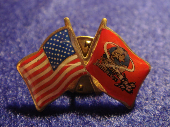 89 NJ USA/national jamboree flag pin