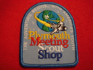 89 NJ Plymouth meeting scout shop patch