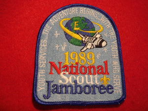 89 NJ youth services staff patch