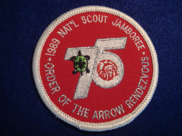 89 NJ Order of the Arrow rendezvous patch