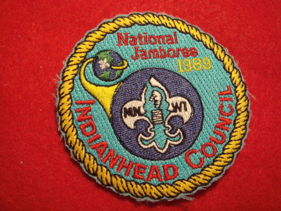 89 NJ Indianhead Council contingent patch