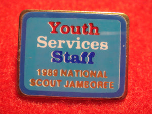 89 NJ youth services staff pin