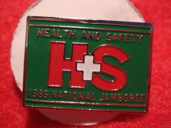 89 NJ health + safety staff pin