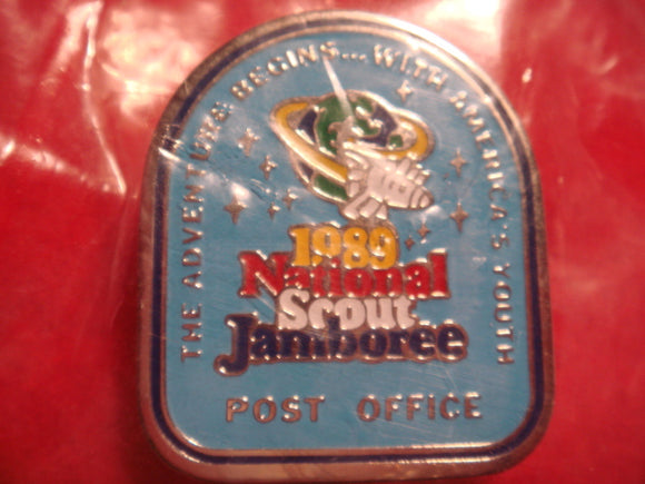 89 NJ post office staff pin