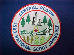 93 NJ jacket patch, central region
