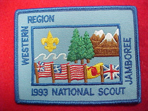 93 NJ western region pocket patch