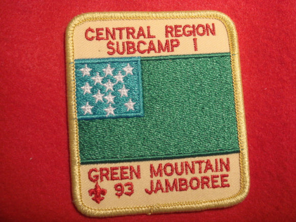 93 NJ subcamp 1, central region patch