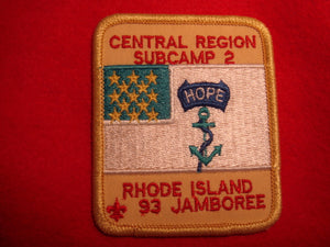 93 NJ subcamp 2, central region patch