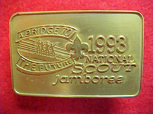 93 NJ neckerchief slide, official