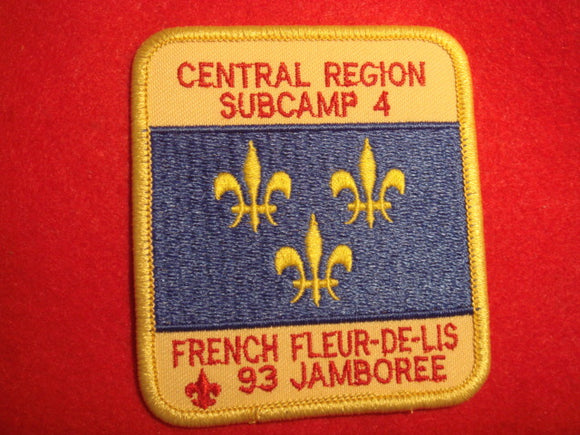 93 NJ subcamp 4, central region patch