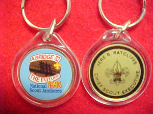 93 NJ keychain, jere ratcliff, chief scout