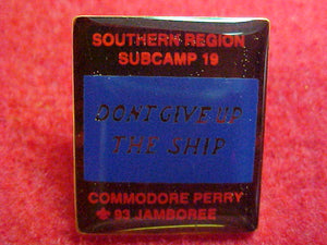 93 NJ pin, southern region, subcamp 19