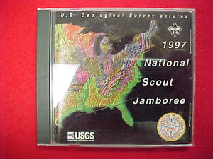 1997 cd disc, u.s. geologic survey