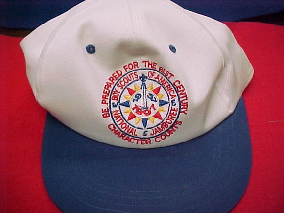 1997 hat, staff, mint condition