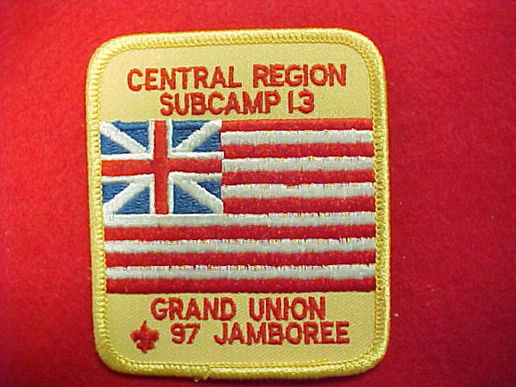 1997 patch, subcamp 13