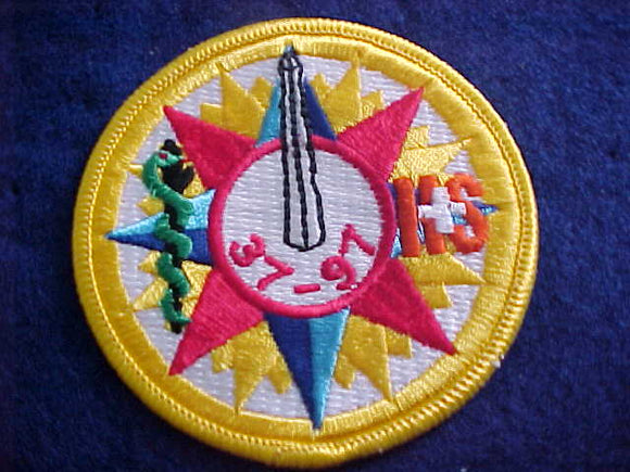 1997 NJ PATCH, HEALTH & SAFETY STAFF, CADEUSUS