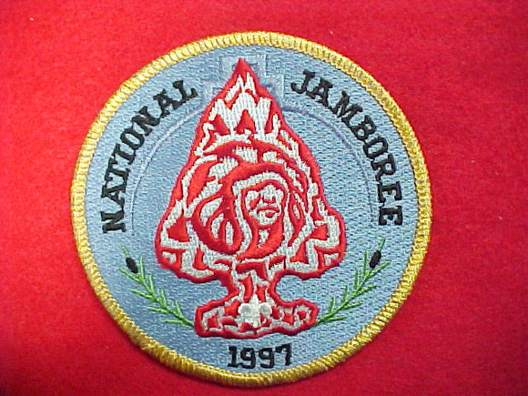 1997 patch, 3.5round, order of the arrow