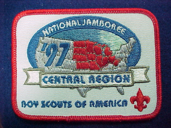 1997 patch, central region, 3x4, not fully embroidered