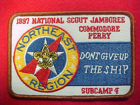 1997 patch, northeast region, subcamp 4