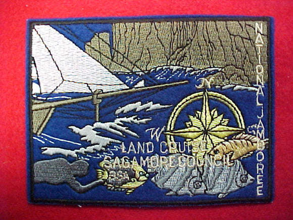 1997 patch, sagamore council contigent