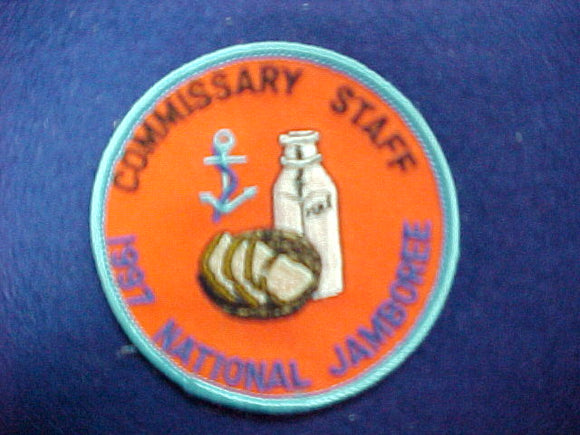 1997 patch, commissary staff