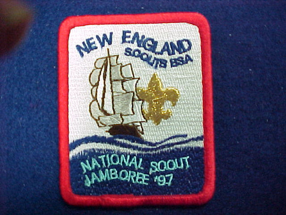 1997 patch, new england scouts