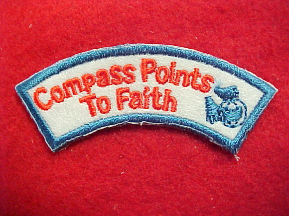 1997 activity award segment, compass points to faith