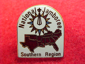 1997 pin, southern region, dome shape