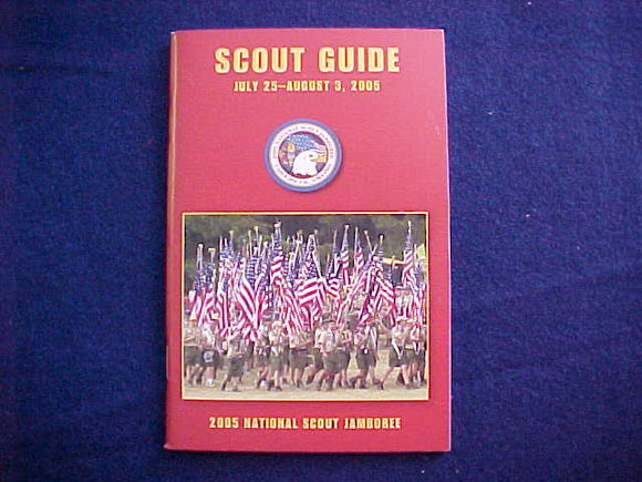 2005 NJ BOOKLET, SCOUT GUIDE