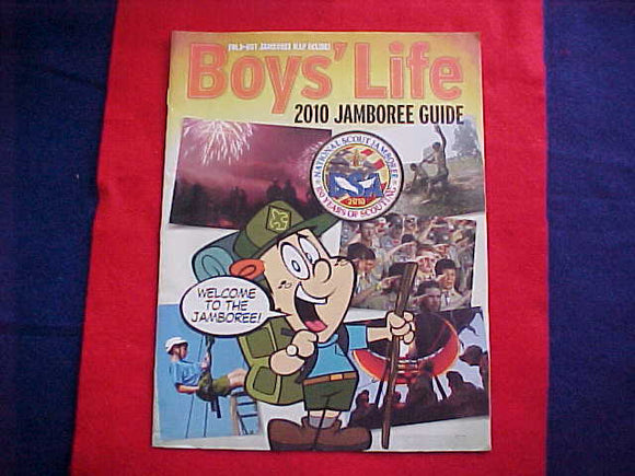 2010 NJ BOYS' LIFE JAMBOREE GUIDE & MAP