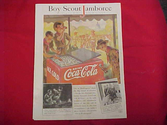 1937 NJ ADVERTISEMENT, COCA-COLA, GOOD HOUSEKEEPING, MAY 1937, ORIGINAL