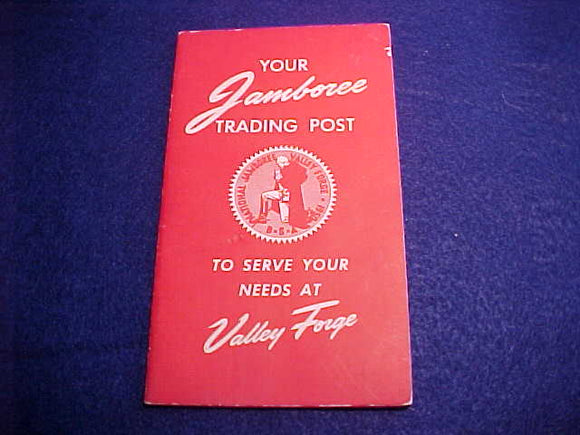 1950 NJ TRADING POST BOOKLET, MINT