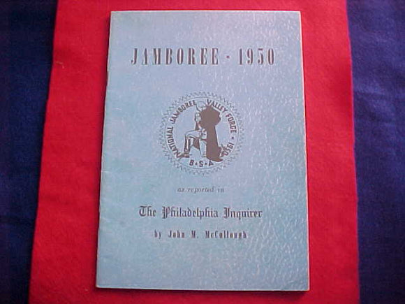 1950 NJ BOOKLET, A COLLECTION OF NEWS COLUMNS OF THE PHILADELPHIA INQUIRER