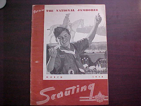 1950 NJ SCOUTING MAGAZINE, MARCH, 1950
