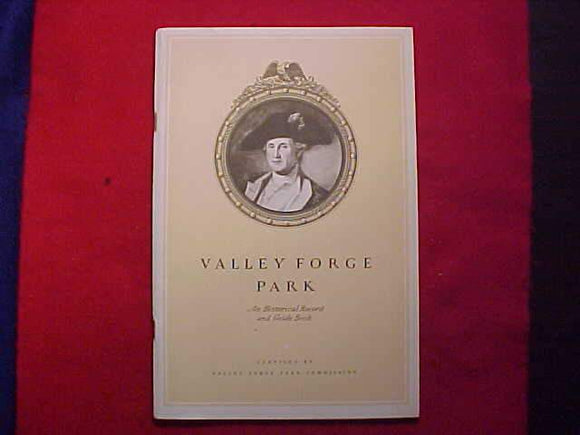1950 NJ GUIDEBOOK, VALLEY FORGE PARK, SPECIAL NJ EDITION, 1950 TITLE PAGE
