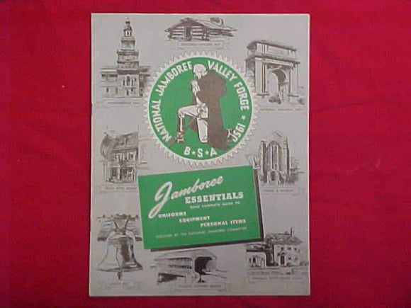 1950 NJ CATALOG, UNIFORMS, EQUIPMENT, PERSONAL ITEMS