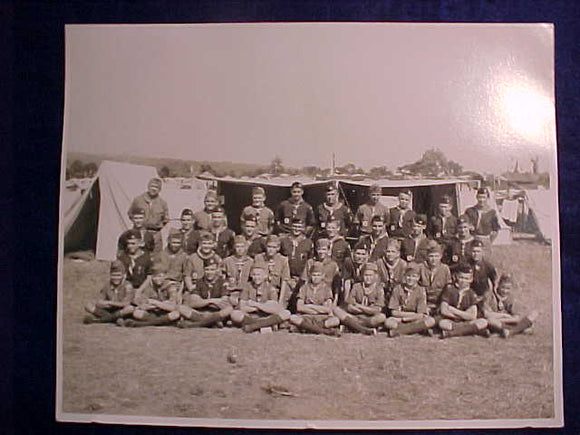 1957 NJ PHOTO, UNKNOWN TROOP, 8 X 10