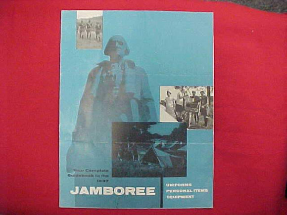 1957 NJ BROCHURE, UNIFORMS, PERSONAL ITEMS, EQUIPMENT, USED