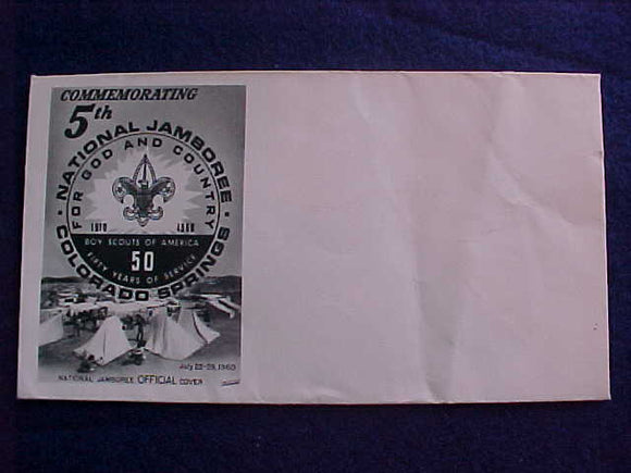 1960 NJ CACHE ENVELOPE #1, BLANK