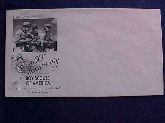 1960 NJ BSA 50TH ANNIV., ENVELOPE