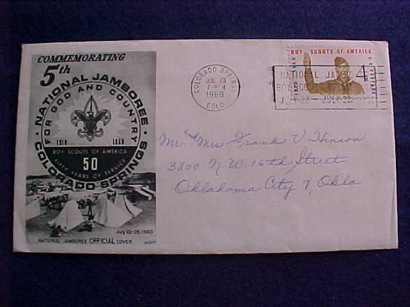 1960 NJ CACHE ENVELOPE #2
