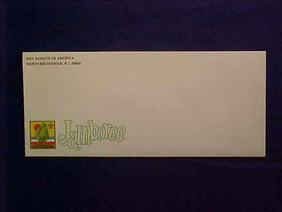 1973 NJ ENVELOPE, BUSINESS SIZE WITH BSA NORTH BRUNSWICK, NJ RETURN ADDRESS