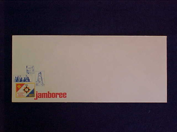 1977 NJ ENVELOPE, BUSINESS SIZE